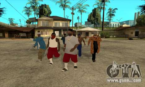Nigga Collection for GTA San Andreas