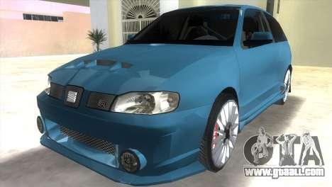 Seat Ibiza GT for GTA Vice City