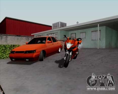 VAZ 2110 v2 for GTA San Andreas left view