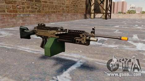 The M249 light machine gun Airsoft for GTA 4