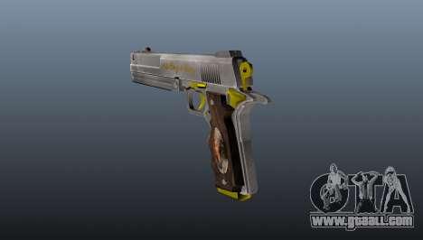 Ivory Pistol for GTA 4 second screenshot