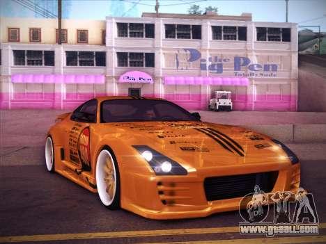 Toyota Supra Top Secret V12 for GTA San Andreas
