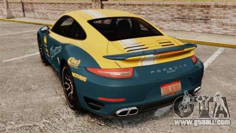 Porsche 911 Turbo 2014 [EPM] Alpinestars for GTA 4 back left view
