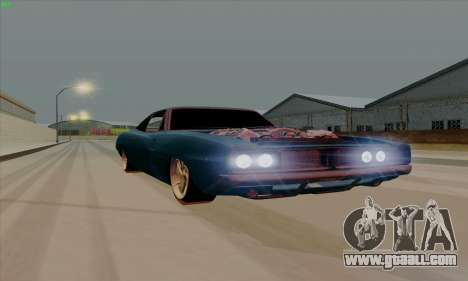 Dodge Charger 1969 Big Muscle for GTA San Andreas left view