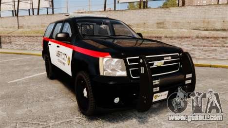 Chevrolet Tahoe 2008 LCPD STL-K Force [ELS] for GTA 4