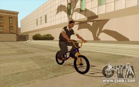 BMX for GTA San Andreas interior