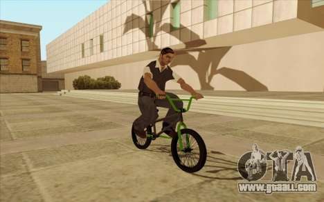 BMX for GTA San Andreas upper view