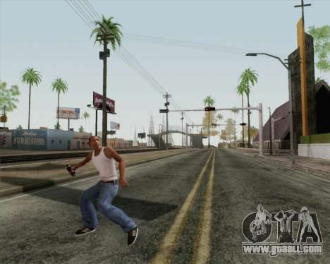 HD assault grenade for GTA San Andreas third screenshot