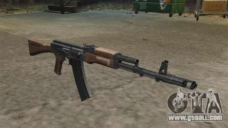 AK-74 stock for GTA 4