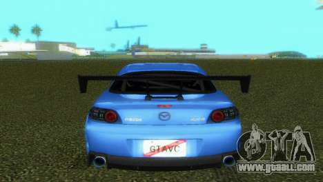 Mazda RX8 Type 1 for GTA Vice City side view