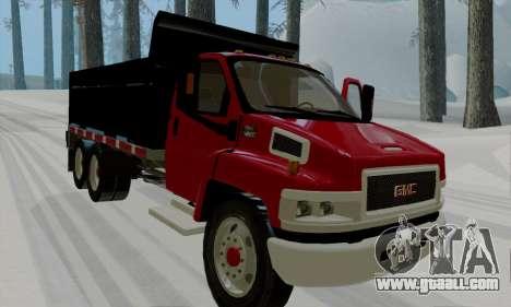 GMC C4500 Topkick for GTA San Andreas left view