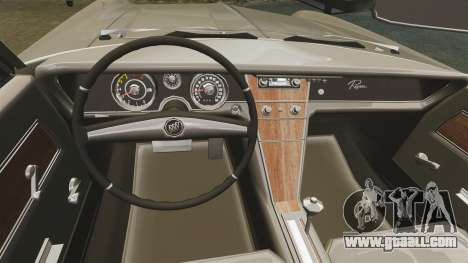 Buick Riviera 1963 for GTA 4 inner view