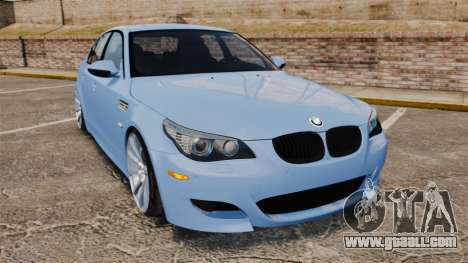 BMW M5 2009 for GTA 4