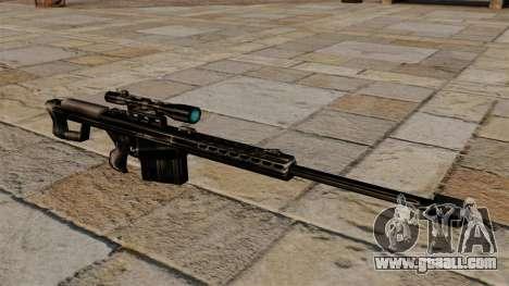 The Barrett M82 sniper rifle for GTA 4