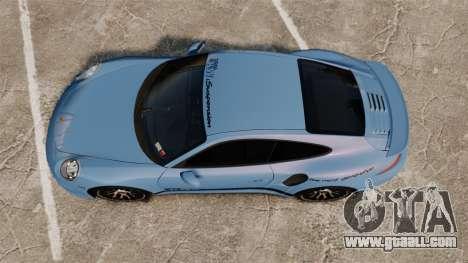 Porsche 911 Turbo 2014 [EPM] KW iSuspension for GTA 4 right view