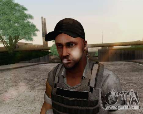 Mercenary of Far Cry 3 for GTA San Andreas third screenshot