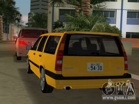 Volvo 850 R Estate for GTA Vice City back view