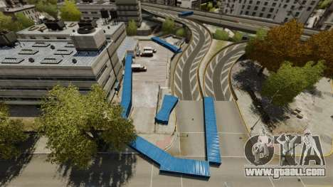 Drift around the city for GTA 4 fifth screenshot