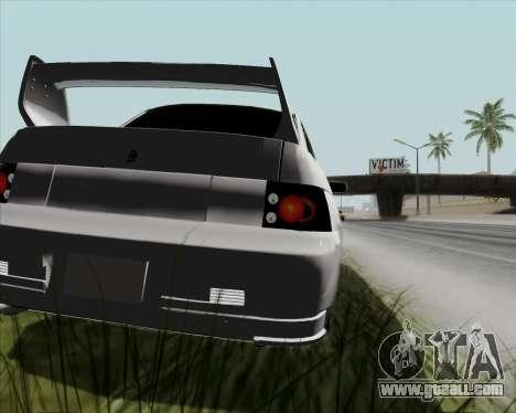 VAZ 2110 v2 for GTA San Andreas back view