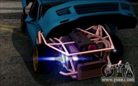 Honda Civic EG6 Tube Frame for GTA San Andreas back view