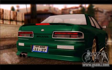 Nissan Silvia Drift for GTA San Andreas back view