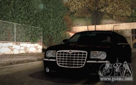 Chrysler 300C Limo 2007 for GTA San Andreas right view