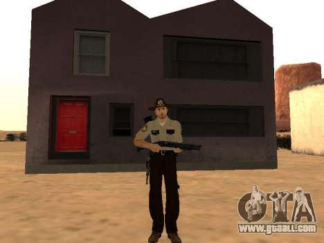 Rick Grimes for GTA San Andreas second screenshot