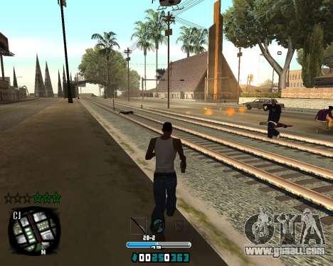 C-HUD Old Tawer for GTA San Andreas second screenshot