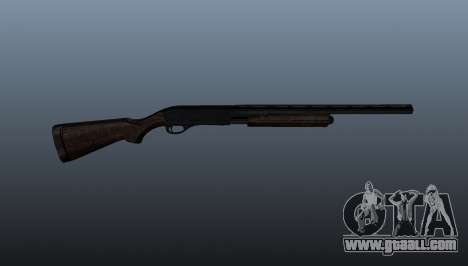 Pump-action shotgun Remington 870 for GTA 4 third screenshot