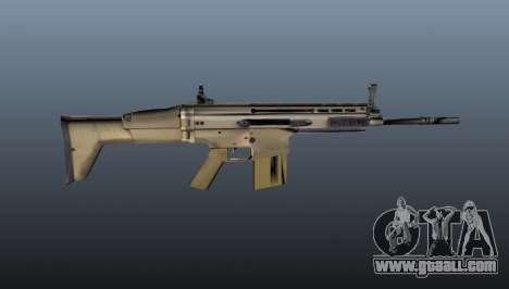 Automatic rifle FN SCAR-H for GTA 4 third screenshot