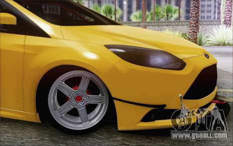 Ford Focus ST for GTA San Andreas back left view
