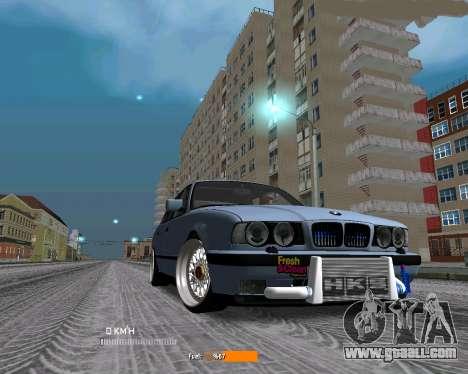 BMW E34 JDM for GTA San Andreas