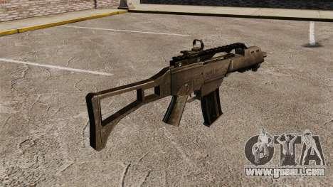 Assault Rifle G36C for GTA 4 second screenshot