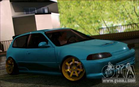 Honda Civic EG6 Tube Frame for GTA San Andreas