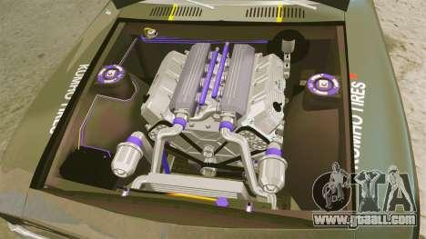 Chevrolet Camaro Z28 for GTA 4 back view