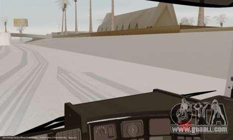 Scania P420 for GTA San Andreas wheels