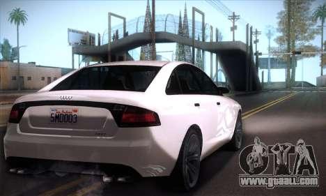 GTA V Tailgater for GTA San Andreas right view
