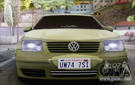 Volkswagen Bora Stance for GTA San Andreas right view