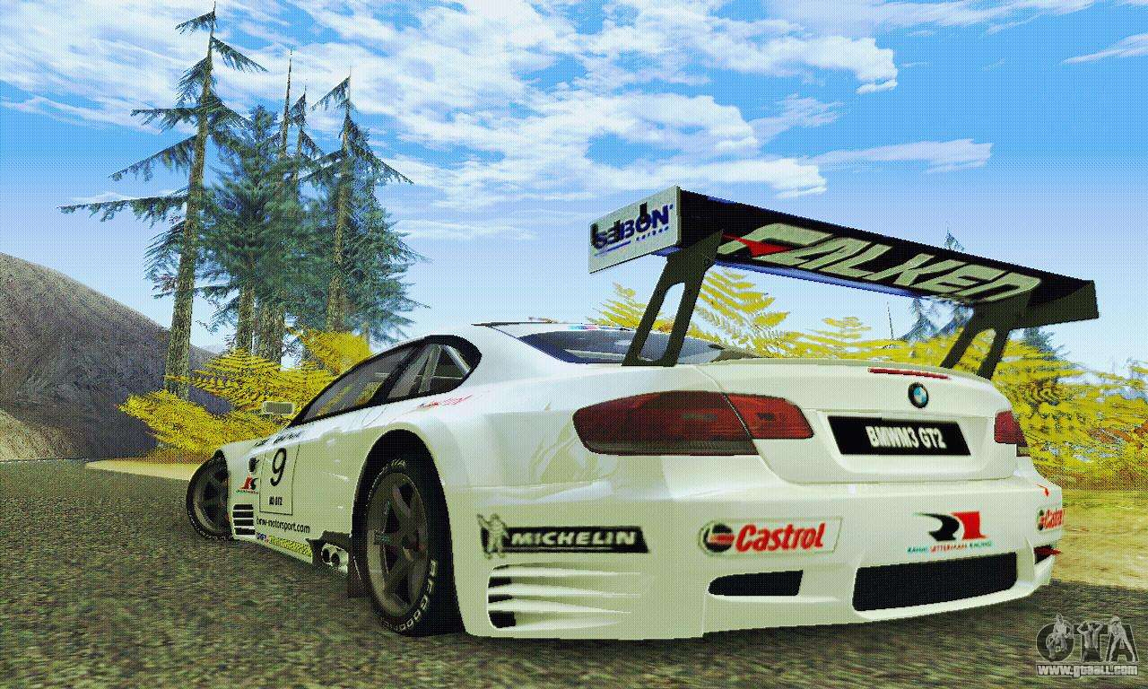 bmw m3 gt2 e92 alms for gta san andreas