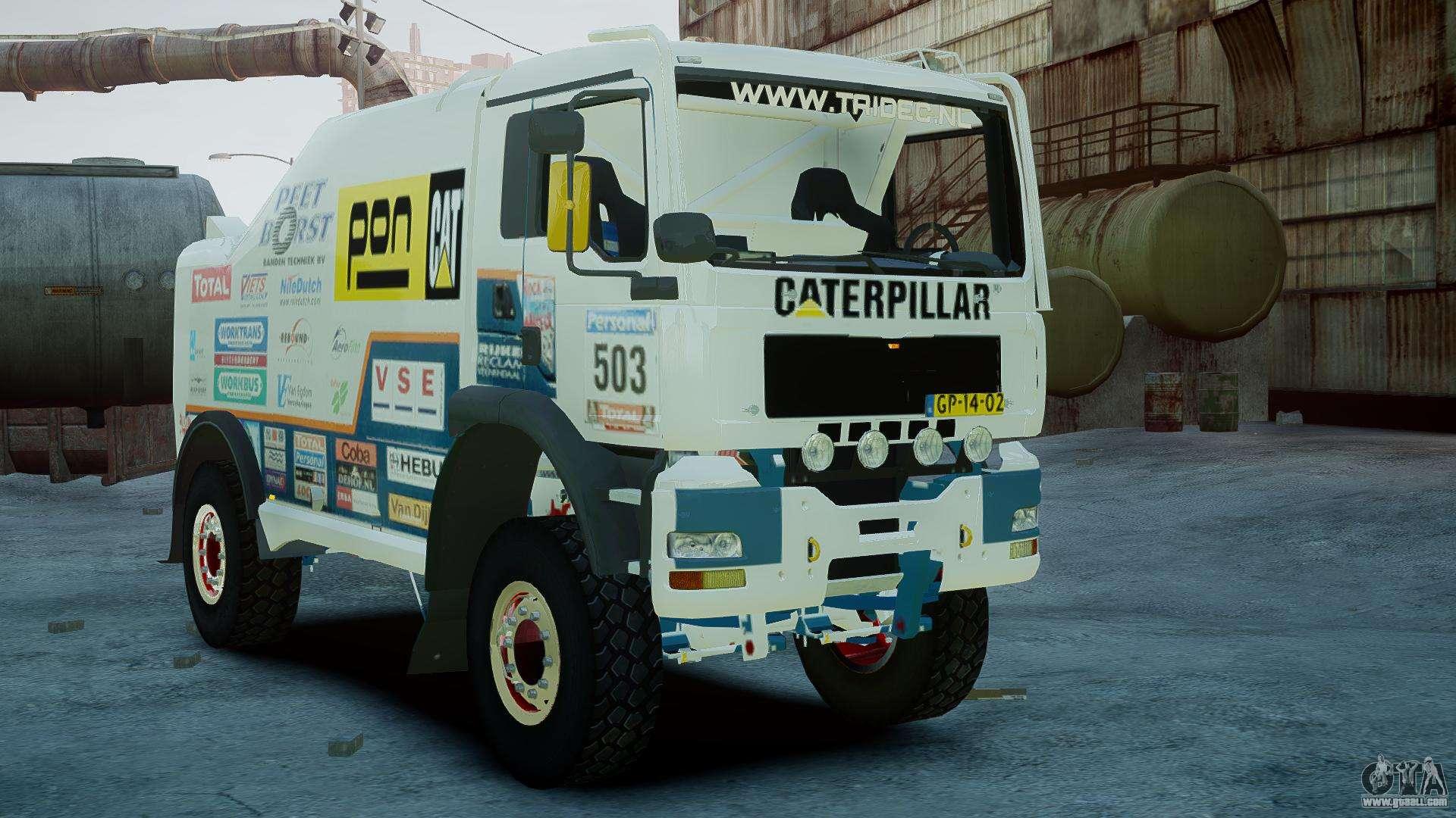 man tga ginaf dakar race truck for gta 4