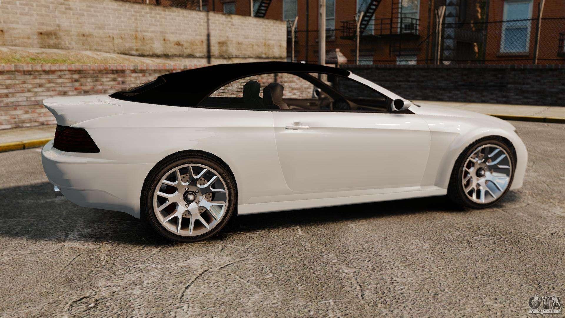 GTA V Zion XS Cabrio [Update] for GTA 4 left view