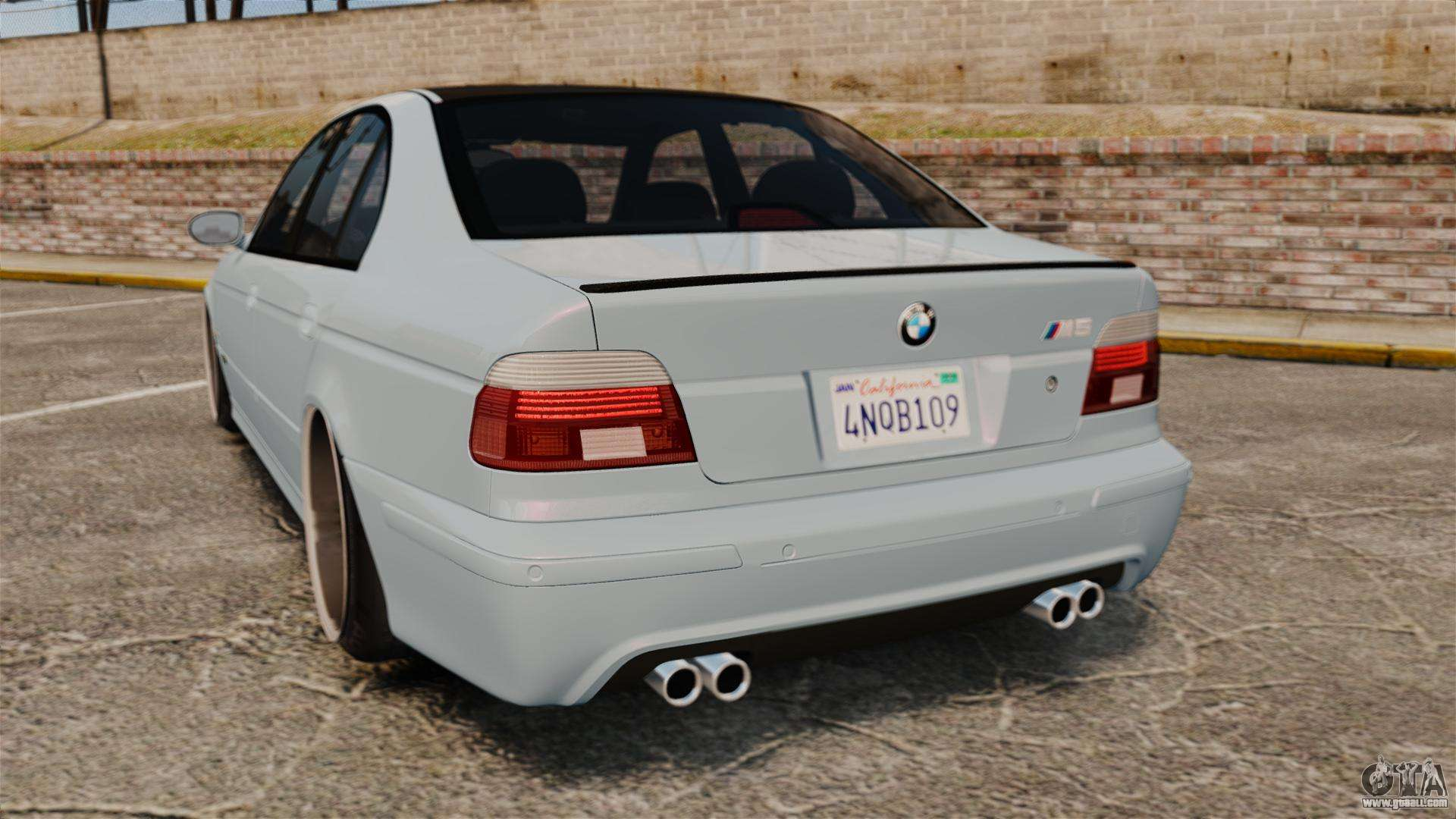 bmw m5 e39 2003 for gta 4. Black Bedroom Furniture Sets. Home Design Ideas