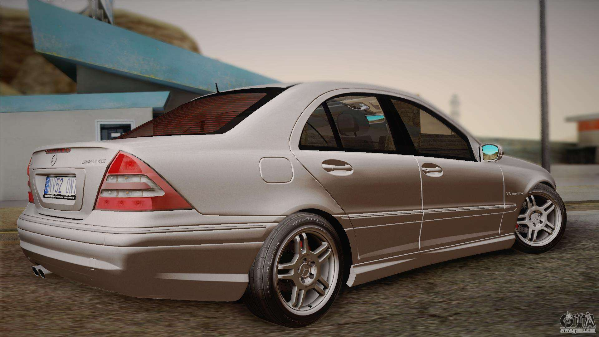 mercedes benz c32 amg 2004 for gta san andreas. Black Bedroom Furniture Sets. Home Design Ideas