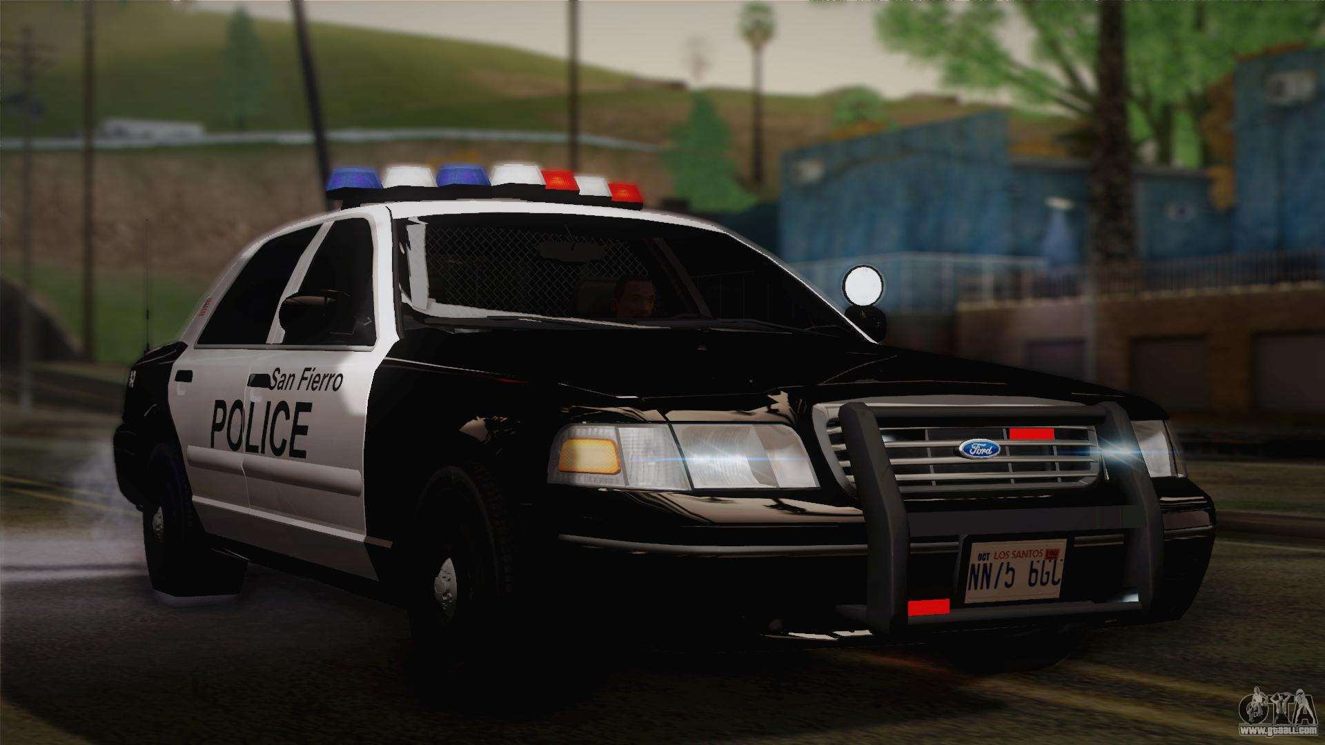 ford crown victoria 2005 police for gta san andreas. Black Bedroom Furniture Sets. Home Design Ideas