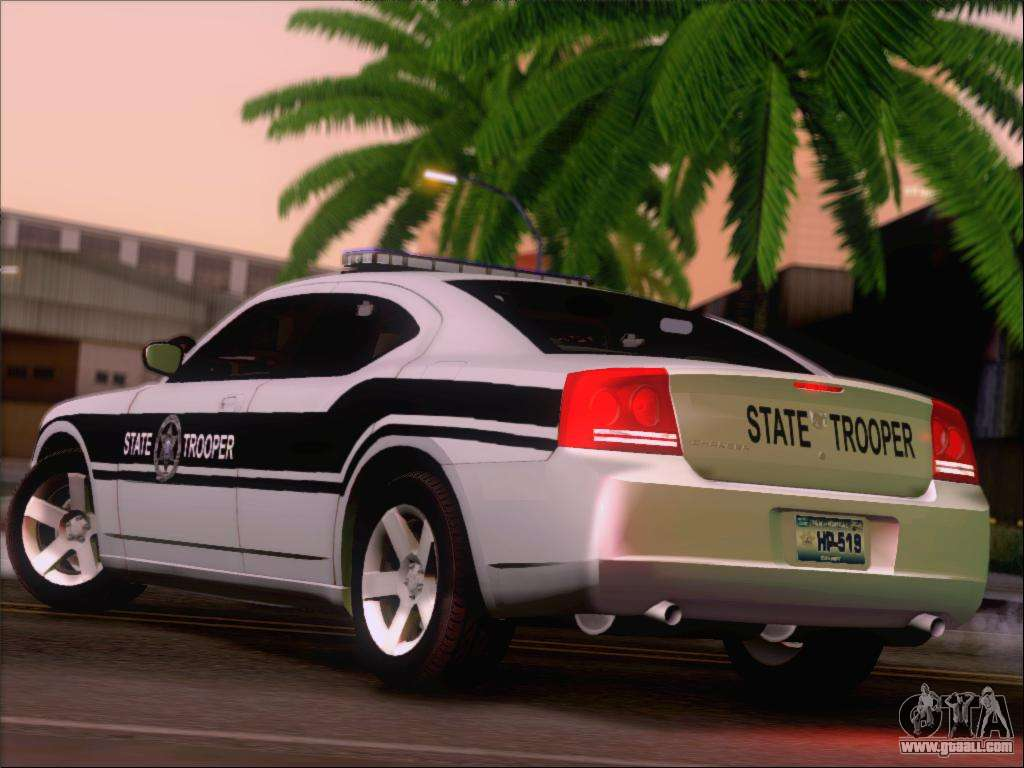Dodge Charger San Andreas State Trooper For Gta San Andreas
