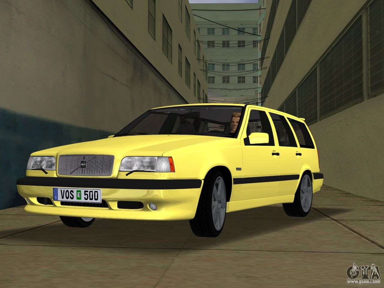 volvo 850 r estate for gta vice city. Black Bedroom Furniture Sets. Home Design Ideas