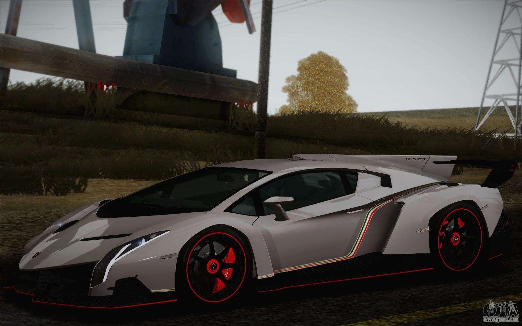 Lamborghini Veneno Lp750 4 2013 For Gta San Andreas
