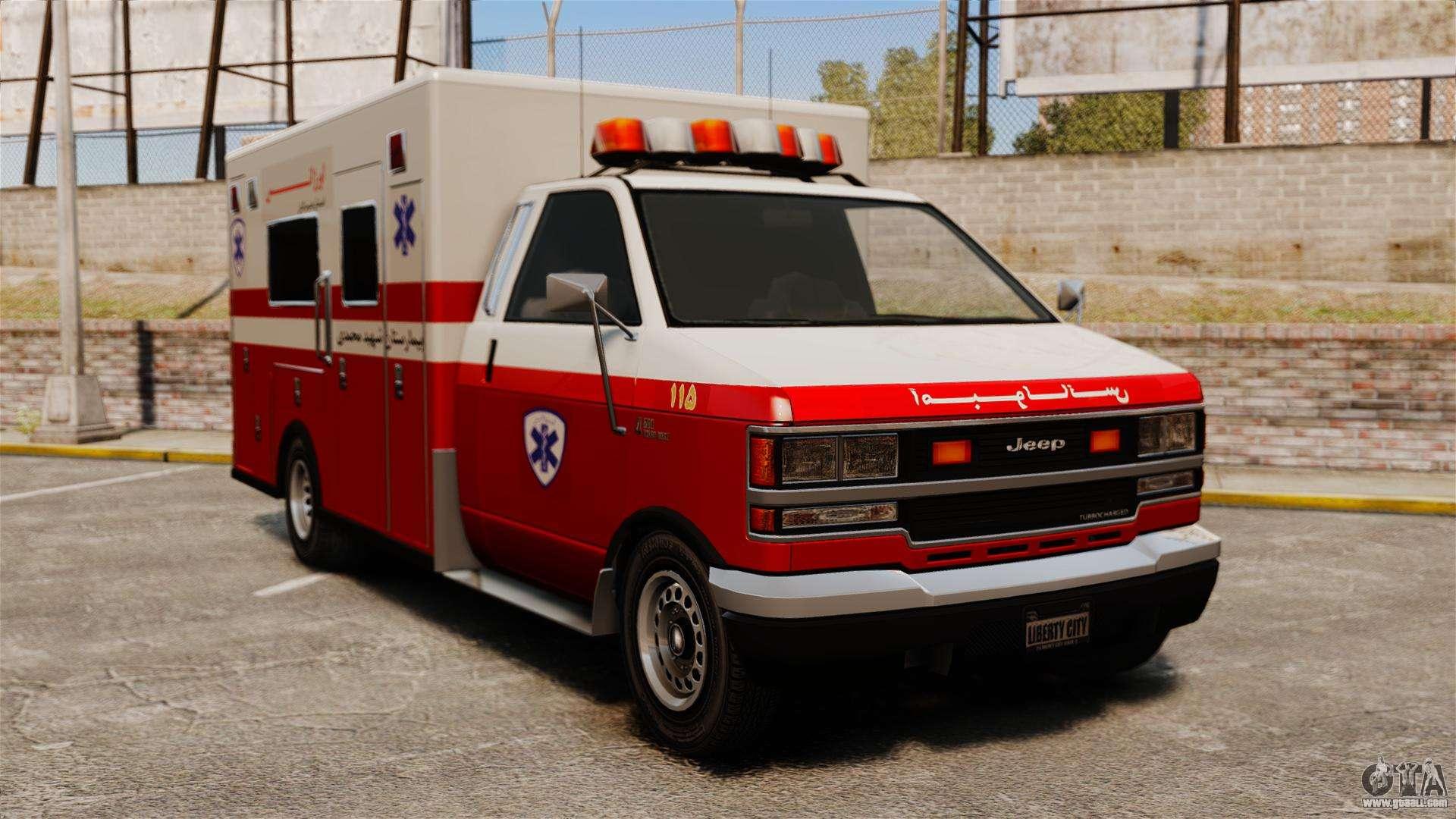 Iranian Ambulance For Gta 4