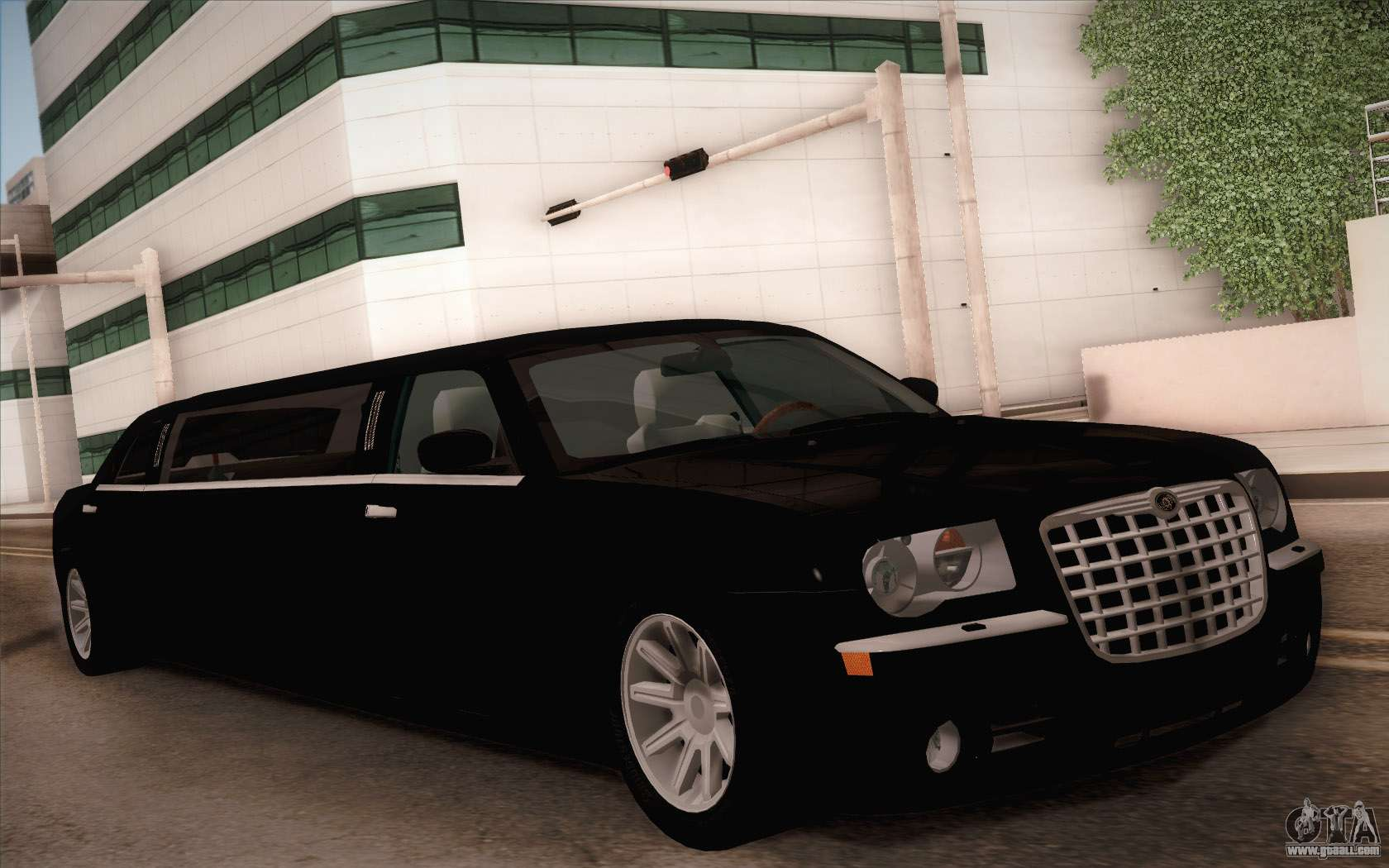 Chrysler 300c Limo 2007 For Gta San Andreas
