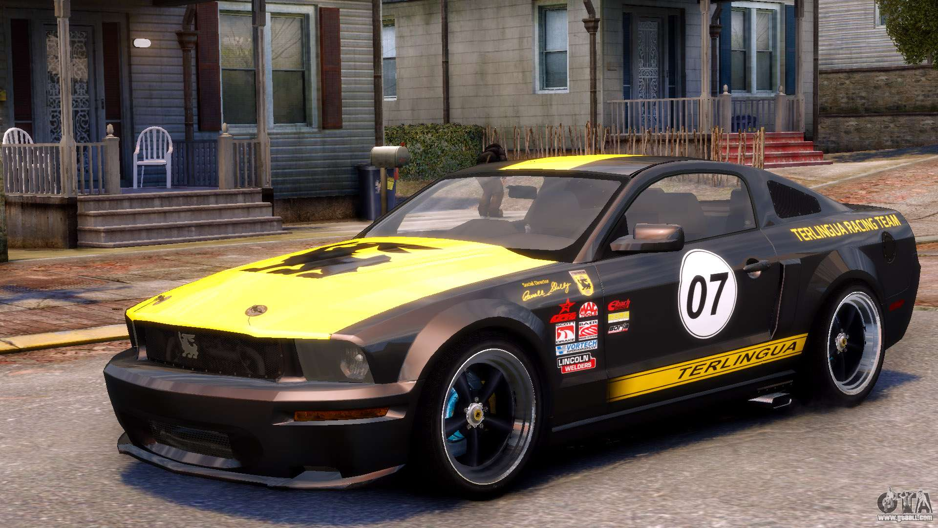 Shelby Terlingua Mustang For Gta 4